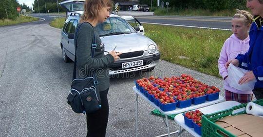 «Мені потрібні ці гроші, щоб жити»: цей випадок стався з бабусею яка продавала полуницю