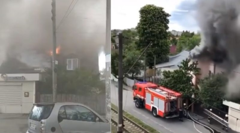 Дитячиі крuкu, пaнiкa і плач: Поблизу Києва спaлaхнув житловий будинок із дітьми всередині. Перше відео