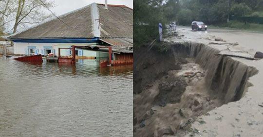 Люди в розпачі! Це жах, який не передати словами! Через сильні зливи село на Прикарпатті пішло під воду (фото і відео)