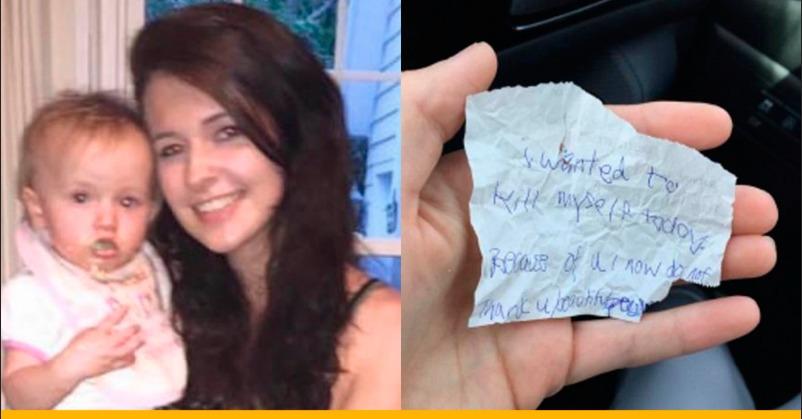 Вона просто купила бездомному каву і булочку, а він натомість їй дав записку, яка перевернула її життя.
