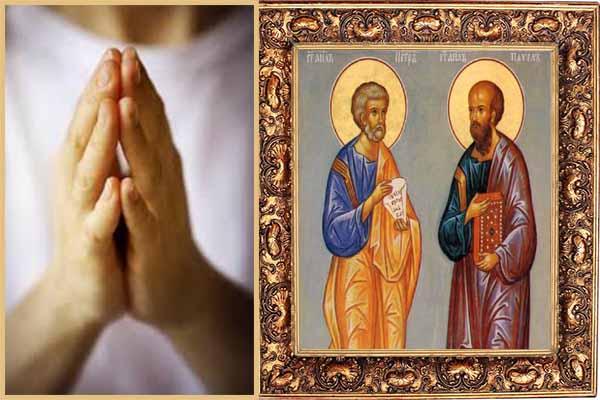 Молитва до Святих апостолів Петра і Павла в перший день посту, яку слід промовити кожному християнинові