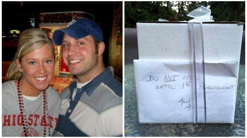 Через 9 років після весілля пара знайшла нерозпакований подарунок з весілля. І він виявився найціннішим!