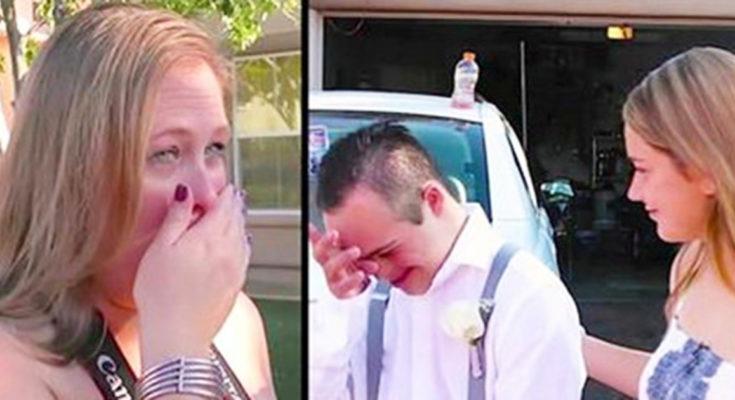 Ніхто не погодився піти на випускний з її сином … Несподівано підійшла незнайома дівчина …