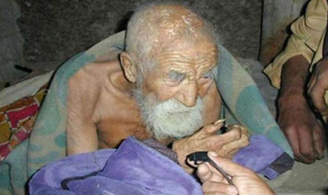 Про цього чоловіка забула смерtь і йому вже більш 180 років