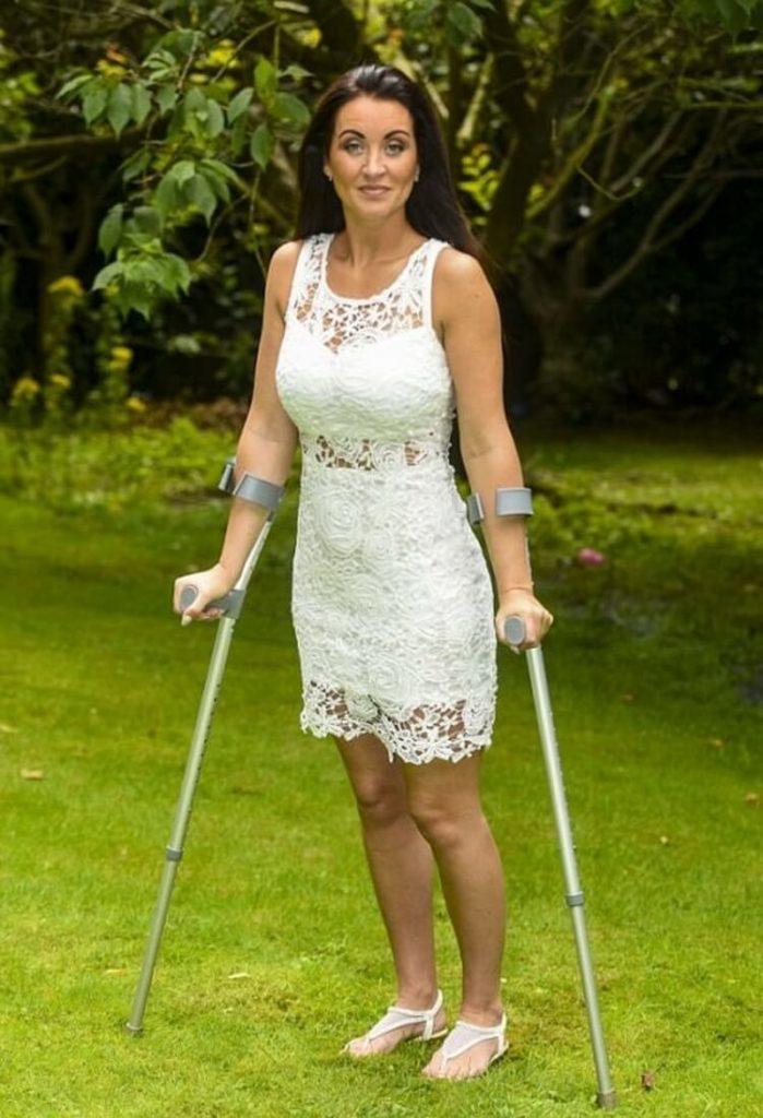 Її паралізувало в 37, потім покинув чоловік і намагався забрати дітей. Але вона не могла собі дозволити бути слабкою