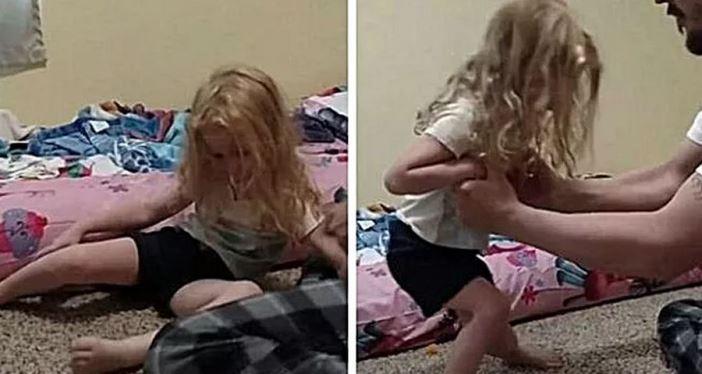 Мама привела доньку до лікарні, у неї підкошувалися ноги. Лікар тільки оглянув її волосся і все зрозумів !!!