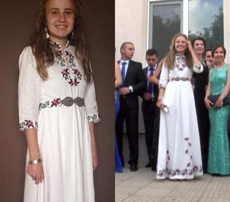Дівчина 2 місяці оформляла вишивкою плаття на випускний. Результат приголомшив усіх