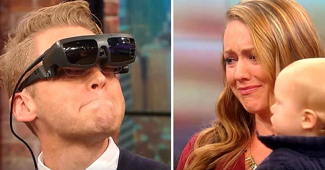Сліпий чоловік вперше побачив свою дружину і сина, він сказав лише два слова, від яких просто сльози на очах…