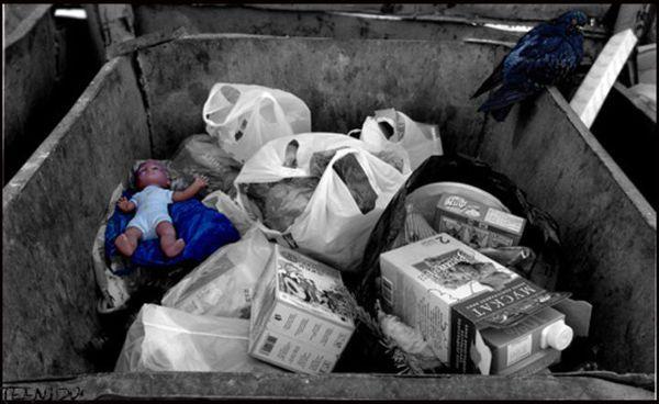 Жінка почула писк із сміттєвого контейнера, вона думала це кошенята, а виявилося, що там був .