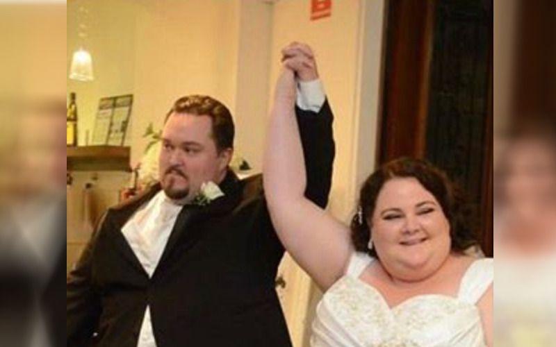 Молодята які важили більше центнера, побачили свої весільні фото і вирішили схуднути, подивіться як вони виглядають сьогодні