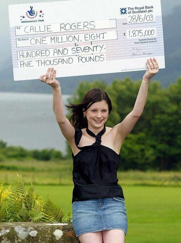 Пам'ятаєте як школярка 16 років тому виграла майже 2 млн фунтів, подивіться як вона живе зараз