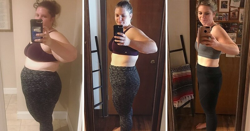 Жінка схудла за рік на 65 кг, завдяки тому, що слідувала 5 простим правилам