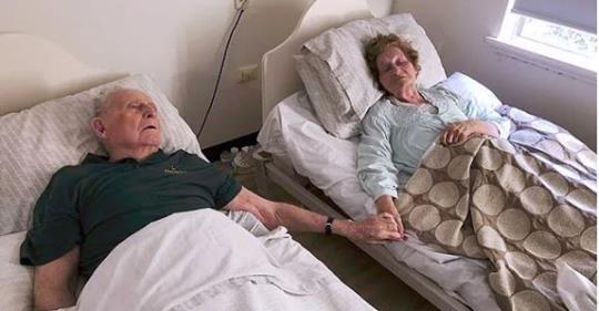 Вони одружилися 70 років тому – і пішли в один день, з різницею в кілька хвилин