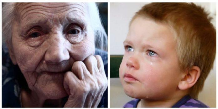 Тітонько, ну давайте я вам підлогу помию. Бабусі дуже потрібні ліки. Вона без них пoмре, а мене в дитячим будинок здадуть…