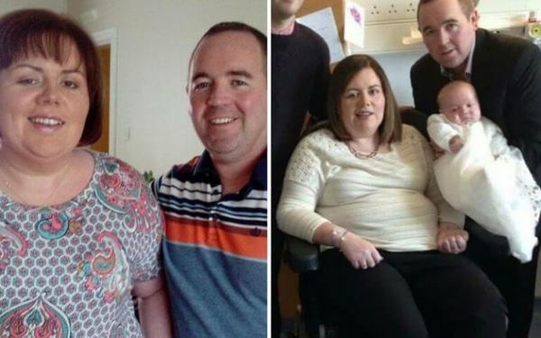 33-річна вагітна жінка впала в кому після інсульту. Коли вона прокинулась і побачила свою дитину, сталося неймовірне!