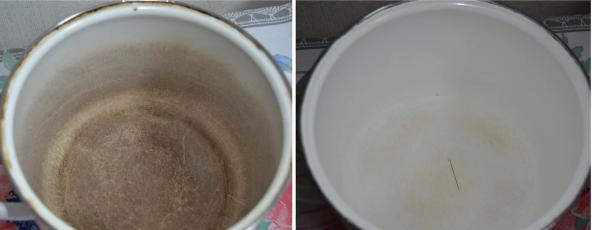 Ефективний спосіб як відновити старий емальований посуд!