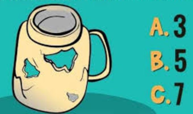 """Скільки отворів у цій чашці? 90% людей не можуть зайти """"правильну"""" відповідь"""