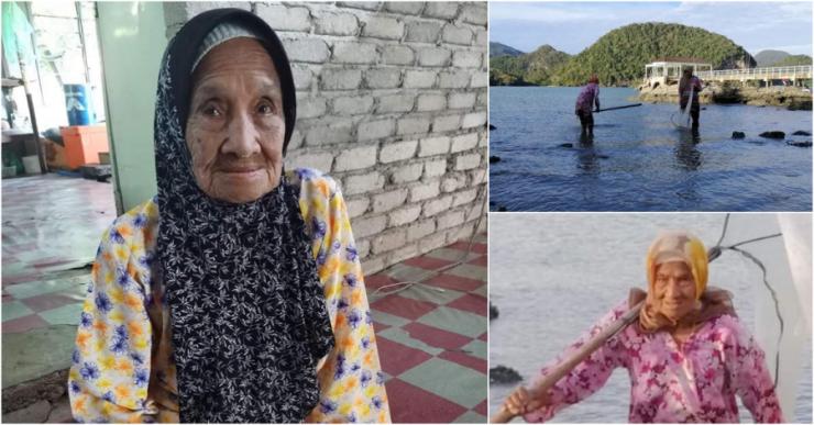 Бабусі вже 104 роки, а вона бадьоро рибалить і торгує на ринку. Молодь вражена і навіть трохи заздрить!
