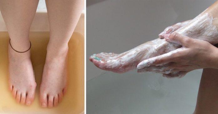 Вона втирала соду в ноги кожен день протягом 2 тижнів! Результат? Я ще такого не бачила!