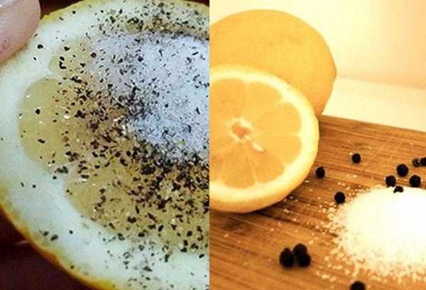 Поєднайте сіль, перець і лимон і забудьте дуже неприємні проблеми зі здоров'ям. Недуги безсилі від цього засобу…