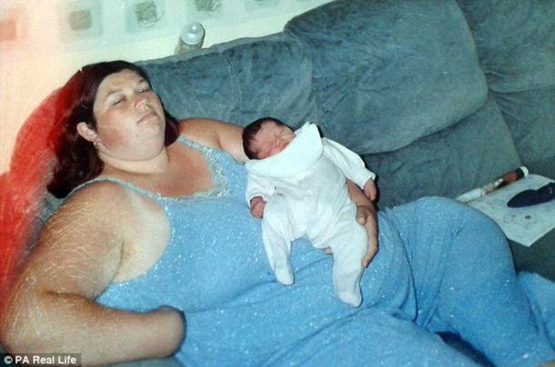 Фото цієї 37-річної повної жінки, матері 4-х дітей – сколихнуло інтернет! І ось чому … тільки поглянь!Сила волі!