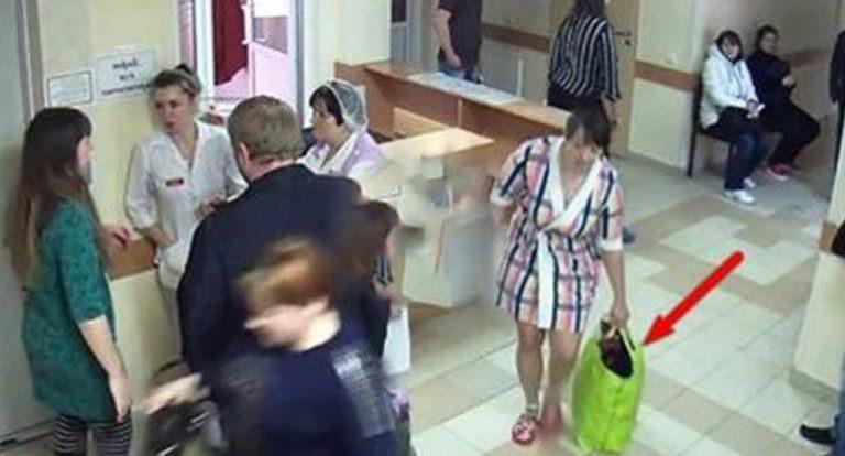 Жінка виносила сумки з лікарні і камери відеонагляду зафіксували це! Не повірuте, що там виявилося!