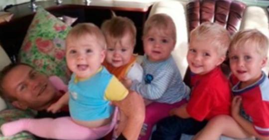 Після заruбелі дружини 31-річний чоловік сам ростив 6 дітей. Тільки поглянь, як його віддячила доля …