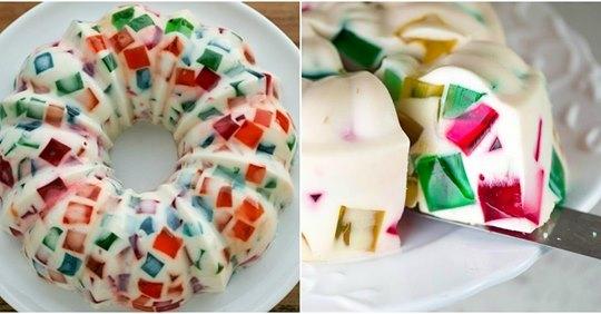Легкі та ніжні желейні десерти. Виходять дуже смачні,не займають багато часу на приготування