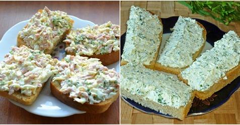 Смачні та поживні рецепти намазок на хліб. Гарно підходять для швидкого перекусу