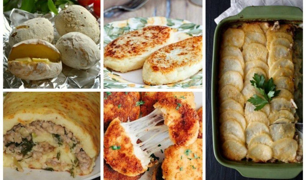 Якщо є картопля,голодними точно не будете : 10 простих рецептів на кожен день