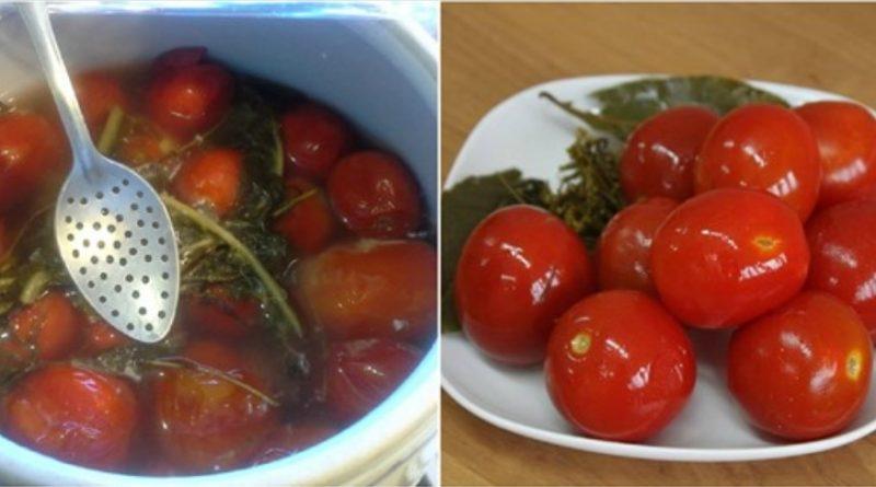 Квашені помідори з цукром. Таких смачних ви ще не пробували