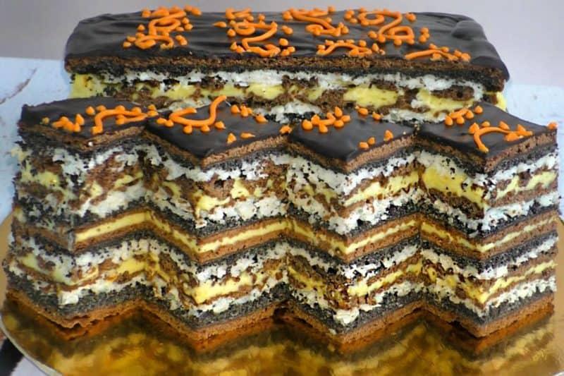 Осінній маковий пиріг. Навіть розпещений тортиками чоловік обожнює цей десерт