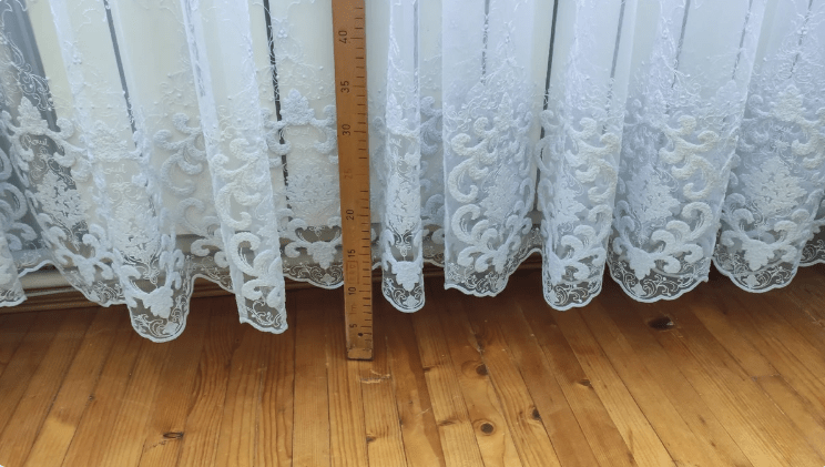 Короткий тюль або штори? Показую простий спосіб, як збільшити довжину штор без шиття