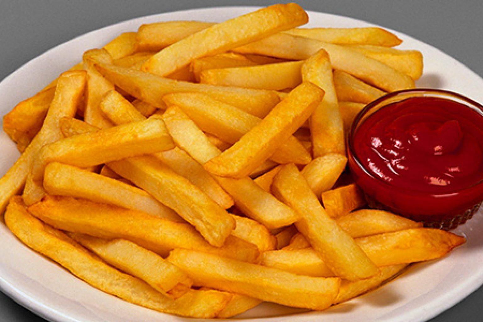 Складно повірити,правда?!Хрустка картопля фрі без краплі жиру.