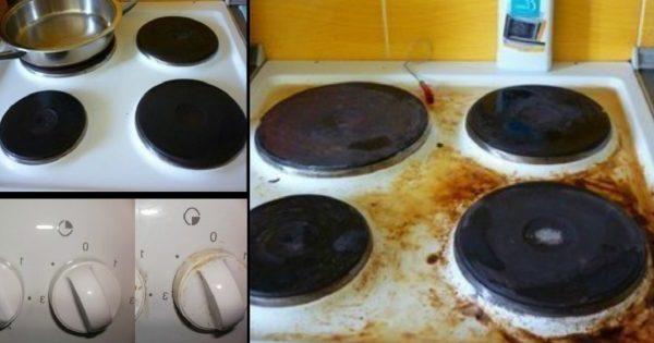 Як ЛЕГКО відмити плиту, до якої пригорів позавчорашній борщ і голубці: 4 способи