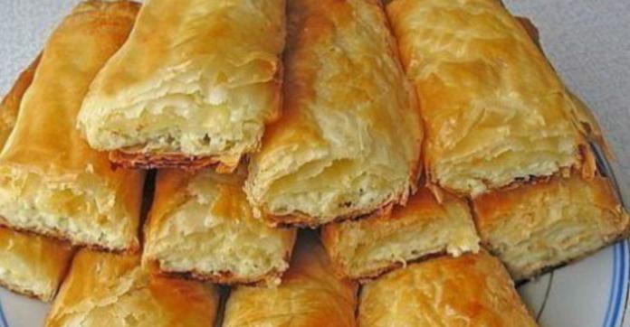 Дуже смачне листкове тісто всього за 10 хвилин. Тепер тісто в магазині не купую, готую тільки сама!